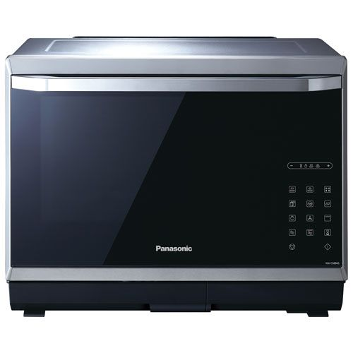 Panasonic Premium 1.2 Cu. Ft. Convection Microwave (NNCS896S) - Black/Stainless Steel | Best Buy Canada