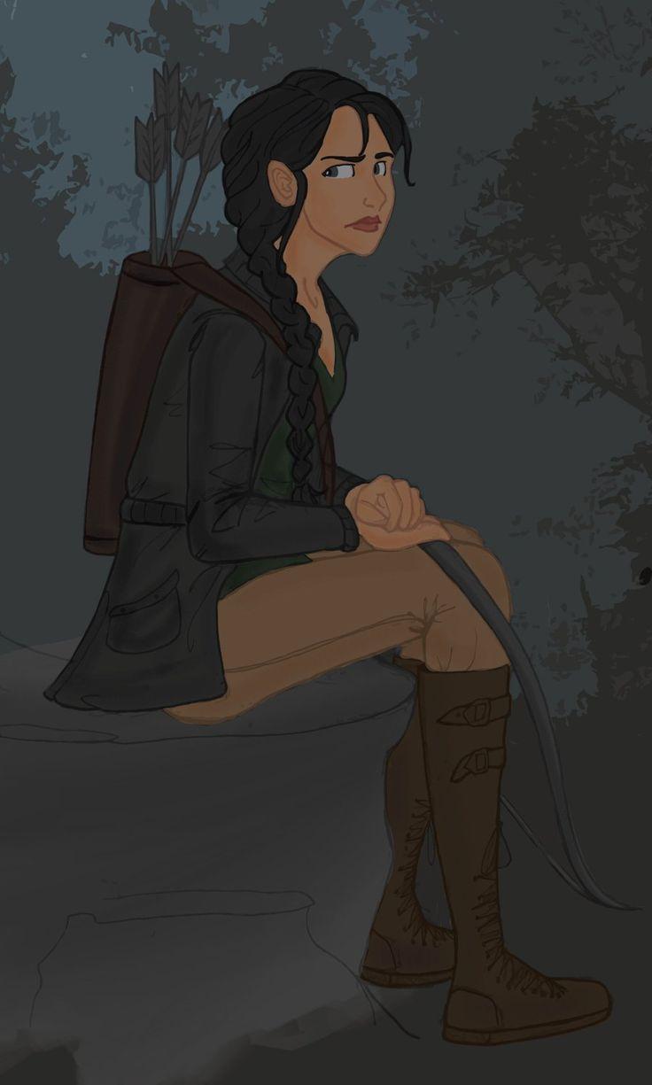 Épinglé par Margot Mathis sur RANDOM. Drawing ️ | Katniss ...
