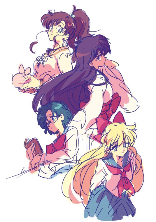 Sailor Scouts                                                                                                                                                                                 More