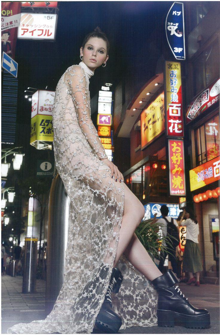 EMBR Jewellery | Fashion Quarterly editorial Spring 2016   Dress: Trish Peng