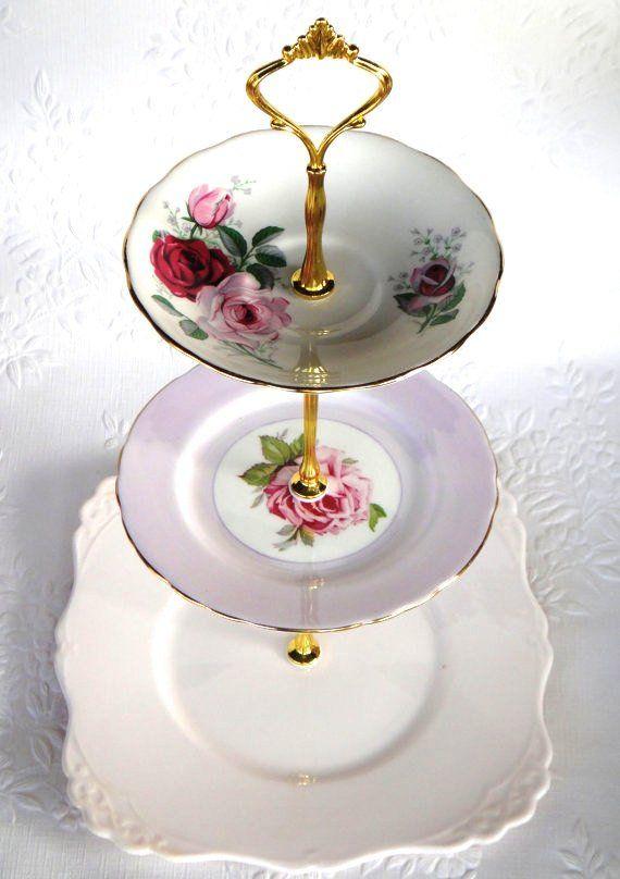 Come Fare Un Vintage 3 Tier Cup Cake Plate Wedding Stand Diy Kit Istruzioni Trapano Bit Pesante Corona Maniglia Di Montaggio Hardware Piatti Per Torta Cupcake Fai Da Te Idee Fai