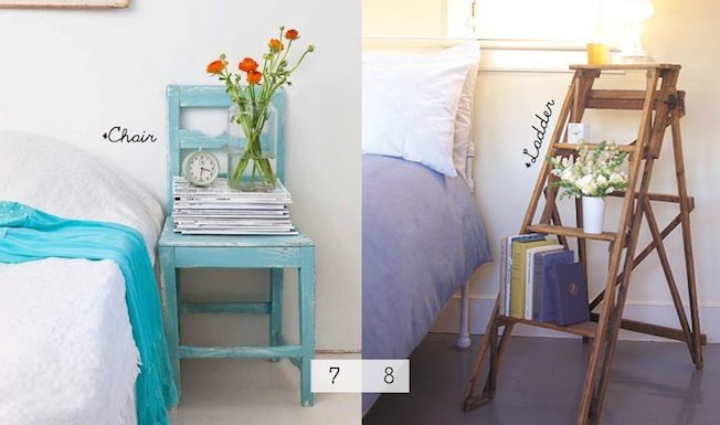 10 unique nightstands unique nightstands tables and ladder for Creative nightstands