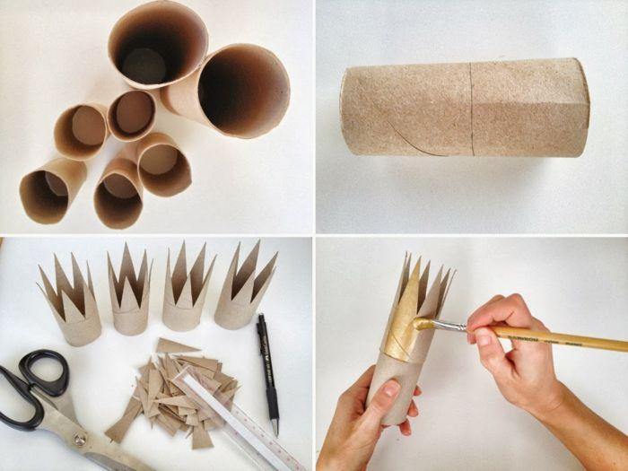 que peut on faire avec un rouleau papier toilette objets d co pinterest rouleau papier. Black Bedroom Furniture Sets. Home Design Ideas