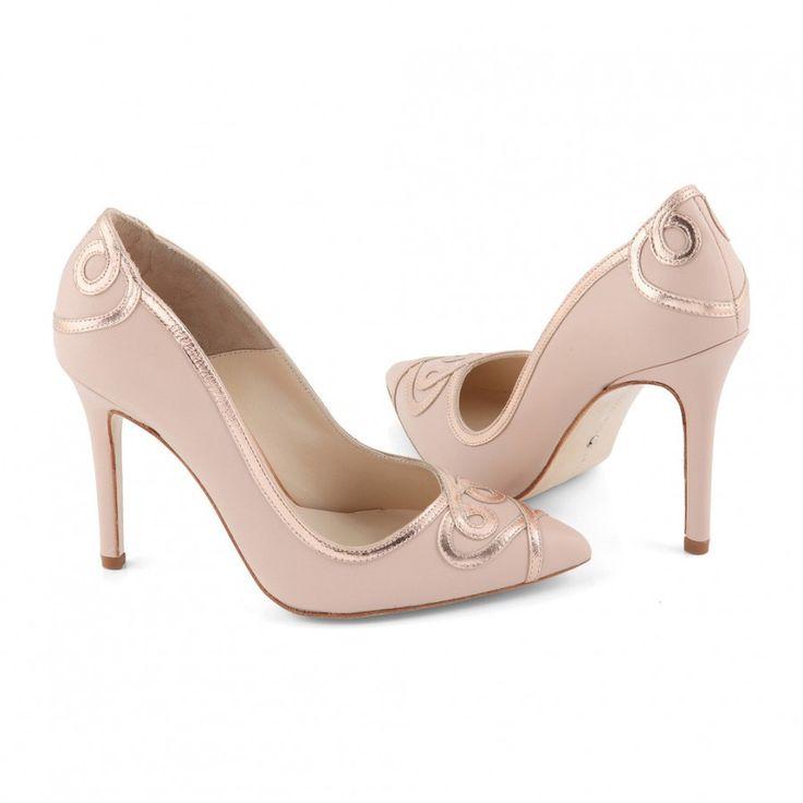 Zapatos de Novia Salón modelo Ana Rose de Charlotte Mills ➡️ #LosZapatosdetuBoda #Boda