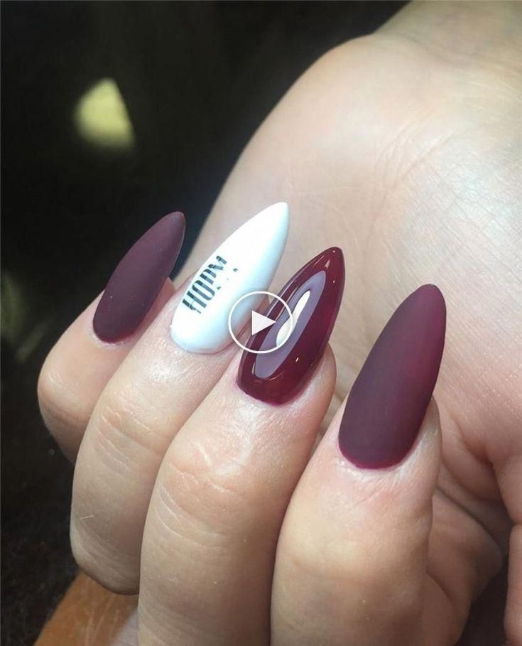 80 Unique And Classy Nail Designs In Autumn 2020 Styles Art