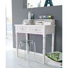 """Sekretarzyk z serii Romantic   """"Romantic"""" cabinet #sekretarzyk #romantyczny #biały #salon #sypialnia #meble #wystrój #wnętrza #cabinet #romantic #white #living_room #bedroom #furniture #interior"""