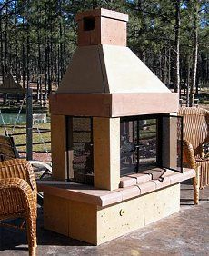 17 best images about north patio on pinterest Pre fab outdoor fireplace