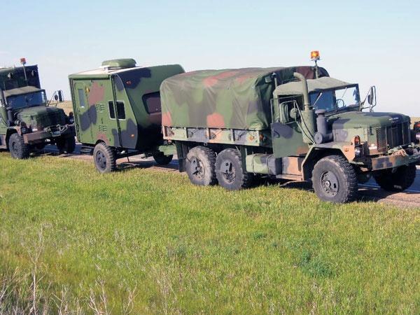 Alaska Highway 70th Anniversary Military Vehicle Convoy. August 2012.
