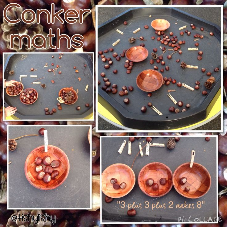 Conkers, pegs and bowls