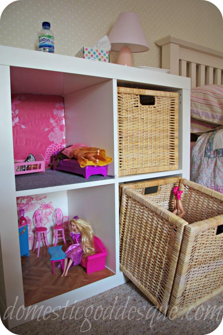 Come fare una Barbie House da un scaffale Ikea Expedit