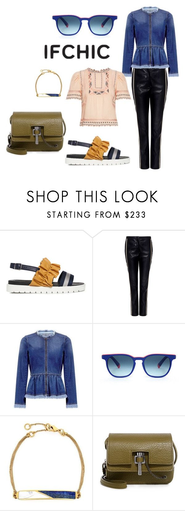 """""""SUMMER SALE at ifchic.com"""" by sahelirima ❤ liked on Polyvore featuring Mother of Pearl, N°21, Marissa Webb, Etnia Barcelona, Edge of Ember, Carven, Rebecca Taylor, summersale and ifchic"""