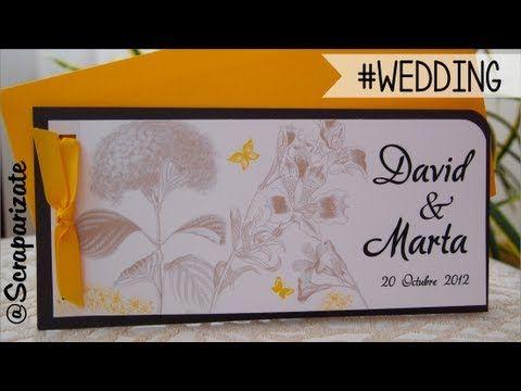 Wedding invitation #2 - Invitación de boda #2