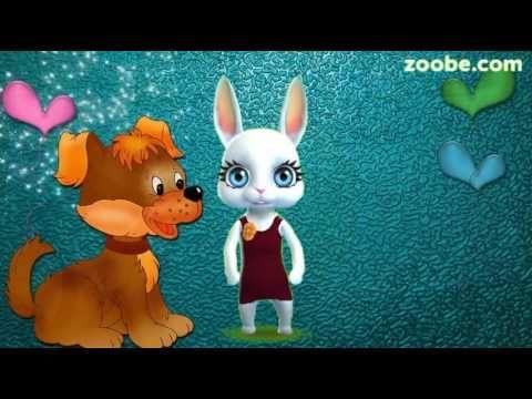 Zoobe Зайка С днем рожденья поздравляю! (полная версия) - YouTube