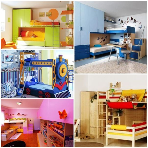 How to arrange a child's room? Ideas for interior color