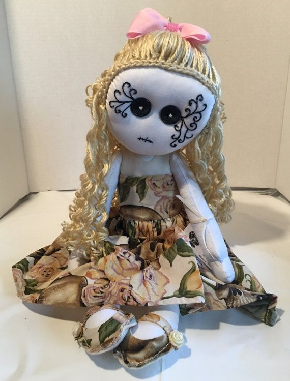 Jezibel OOAK loco trapo muñeca gótica