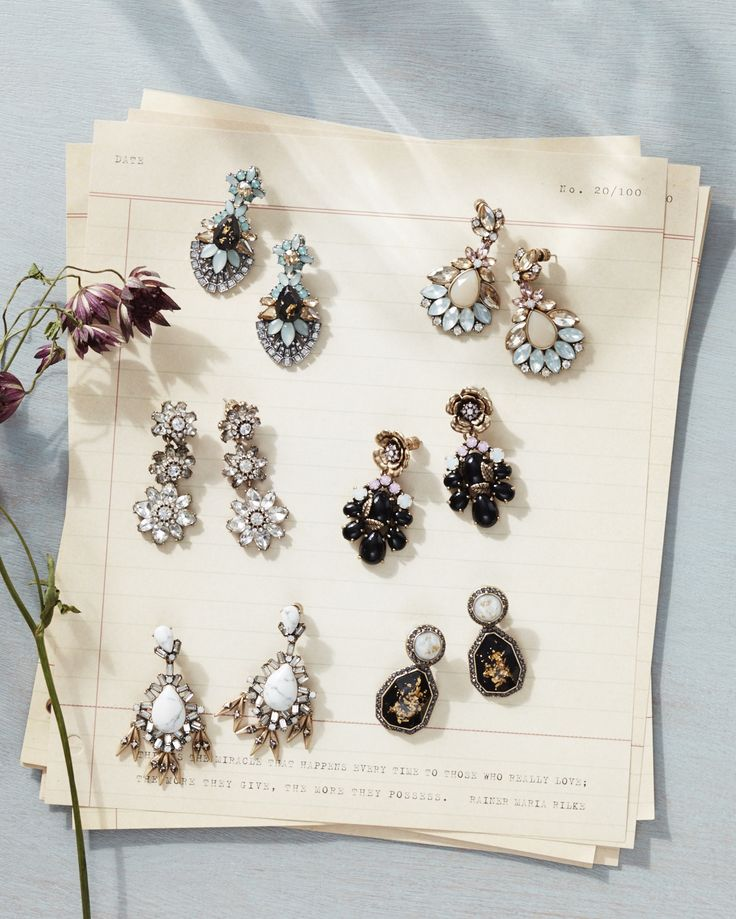 Pick your perfect statement earring pair for Spring