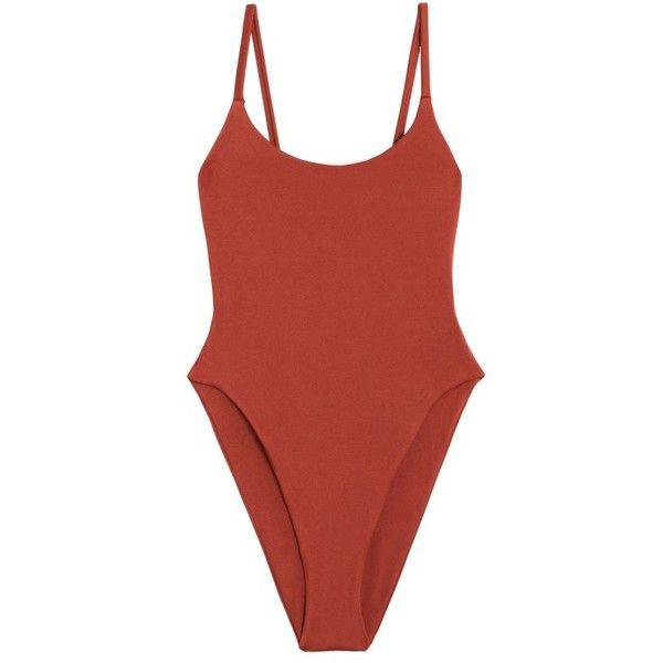 Alix Sienna Delano One Piece (€165) ❤ liked on Polyvore featuring swimwear, one-piece swimsuits, tops, swimsuit, body, one piece bathing suits, swimsuit swimwear, swimming costume, slimming swimsuits and slimming swimwear