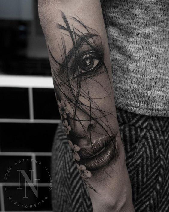 Tattoo Gesicht Frau