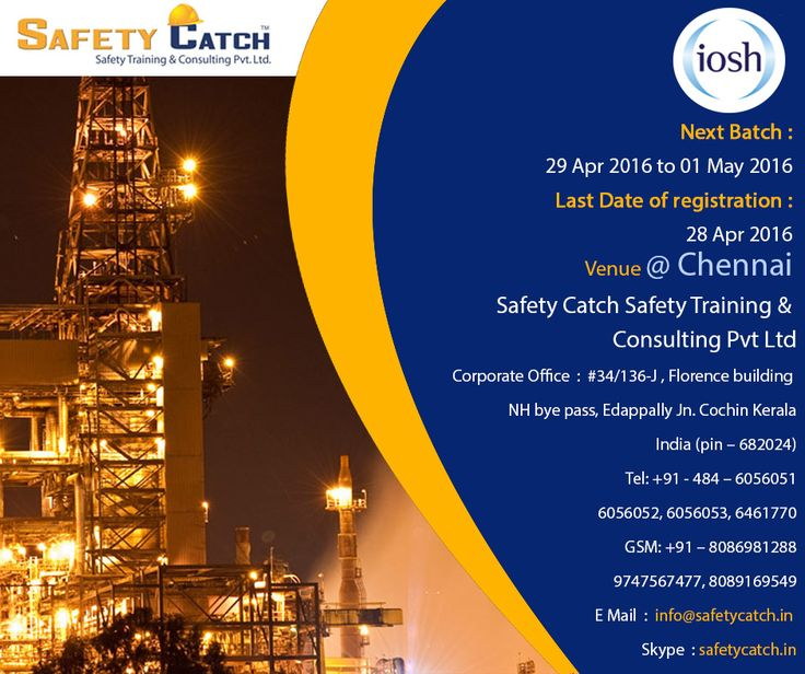 #IOSH Managing Safely is an accredited #course for those with hands-on responsibility for #Health & #Safety.  Book online or call to discuss more: http://bit.ly/IOSH-Training-Program