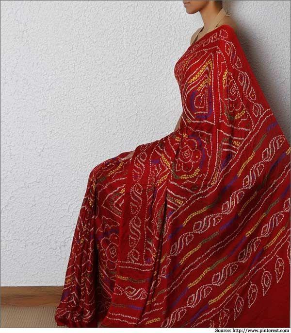 Bandhani Sarees | Bandhani Designs | Bandhani Silk Sarees Online