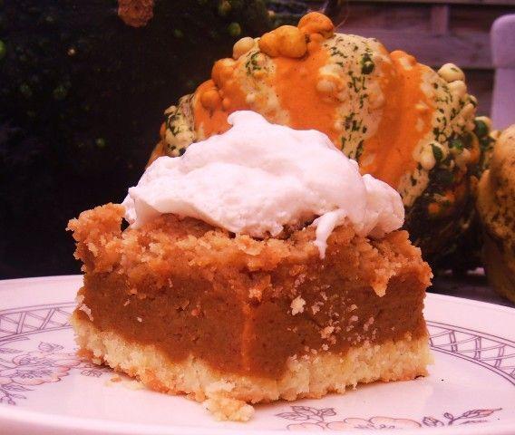 Better Than Pumpkin Pie yellow cake mix, canned pumpkin