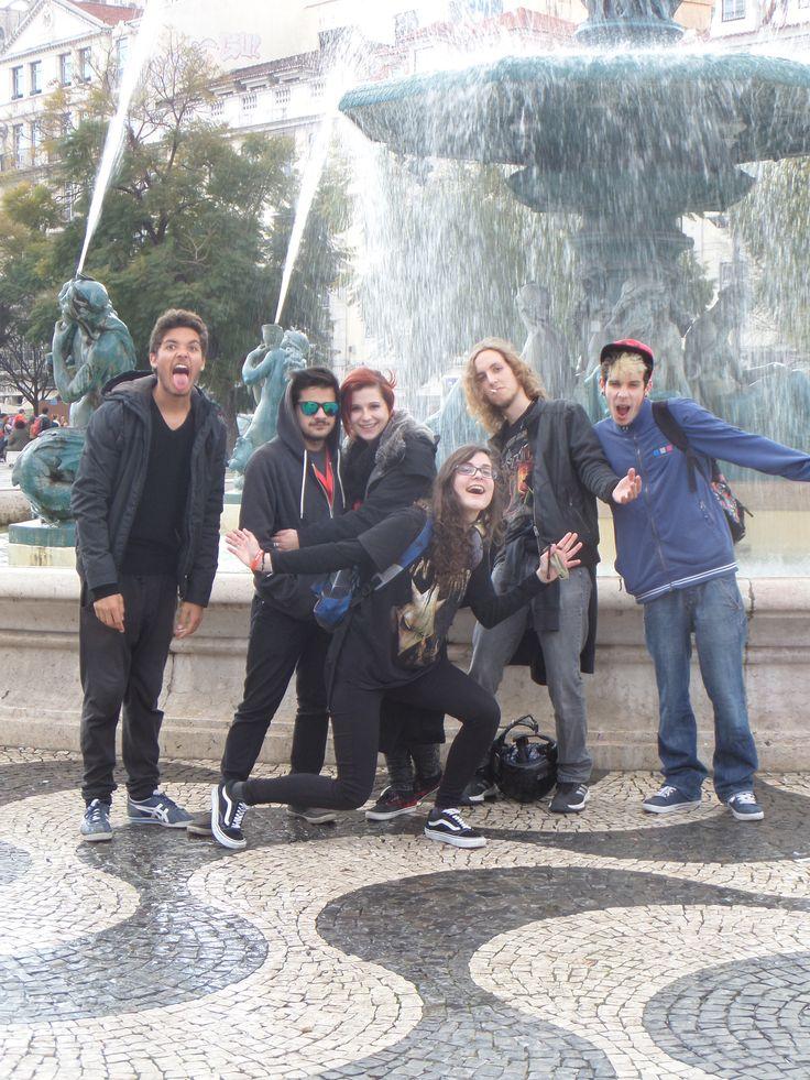 trip to Lisbon w/ ma homies
