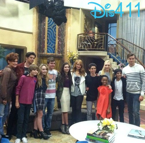 "Photos: ""Girl Meets World"" Stars With The Cast Of ""Jessie"" At Their Live Taping March 21, 2014"