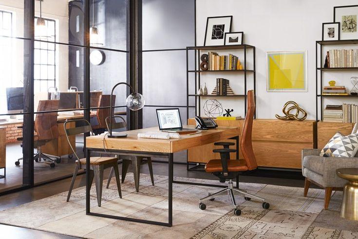 Industrial Executive Desk - Desks - Desks+Tables
