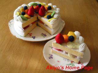 Sugar Bucket Crafts: More Felt Food Felt Cakes