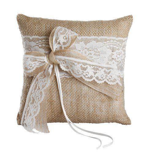 Ivy Lane Design Country Romance Square Ring Pillow, 8-Inch, White Ivy Lane Design http://www.amazon.com/dp/B00K6O3PC0/ref=cm_sw_r_pi_dp_zrFXtb0CQRRNGFEZ