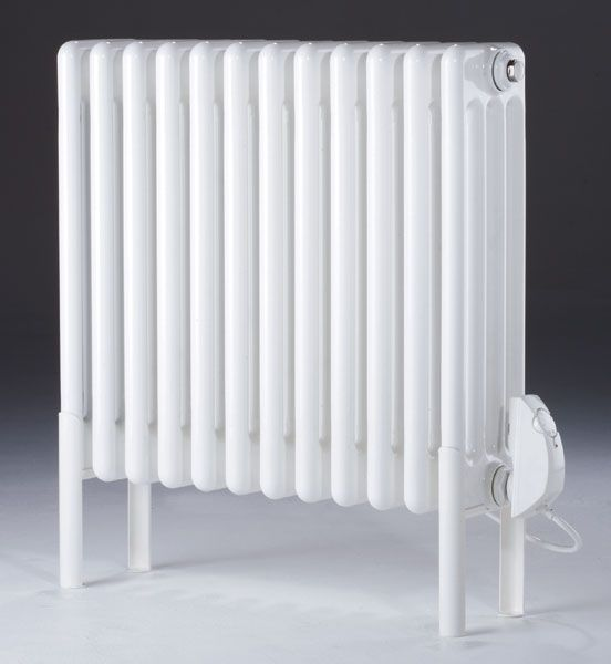MHS Multisec White Steel 4 Column Electric Thermostatic Radiator   H. 29 best Heaters images on Pinterest   Electric radiators  Designer