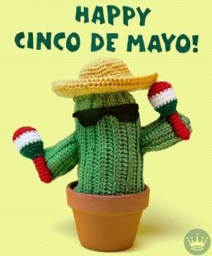 New party member! Tags: dance mexico stop motion spanish ecards cactus knitting crochet cinco de mayo hallmark hallmark ecards knit yarn hallmarkecards stop motion animation maracas amigurumi mexican culture happy cinco de mayo