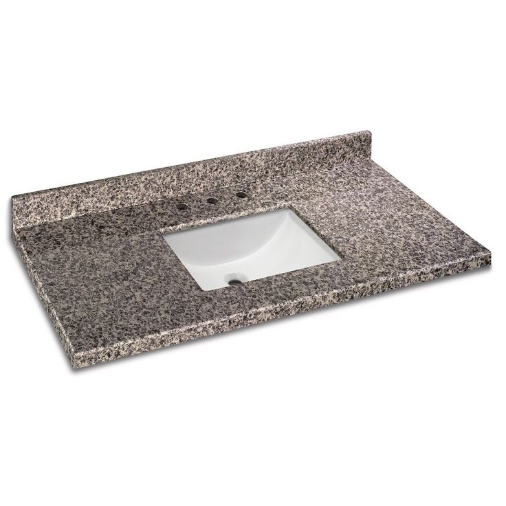 49 inch x 22 inch sircolo granite vanity top with trough bowl bathroom ideas pinterest. Black Bedroom Furniture Sets. Home Design Ideas
