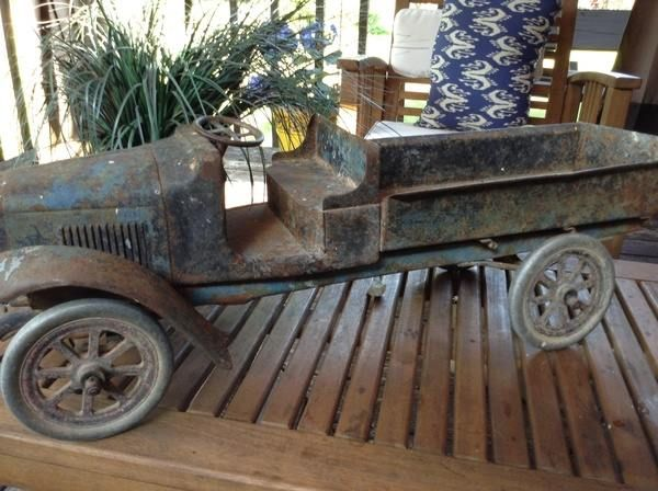 Buddy L truck from the early 20's-Dusty Old Thing