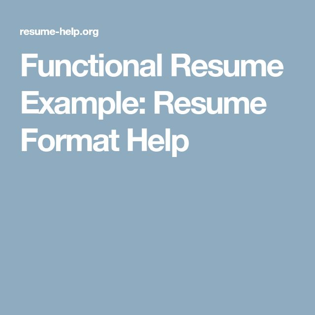 32 best Resume Example images on Pinterest | Sample resume, Resume ...