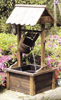 Idée de puits pour masquer, par exemple, la prise d'air du puits provençal (puits canadien)