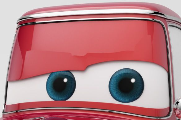 Creating Pixar Cars style eyes using procedural Texturing in VRay for Maya