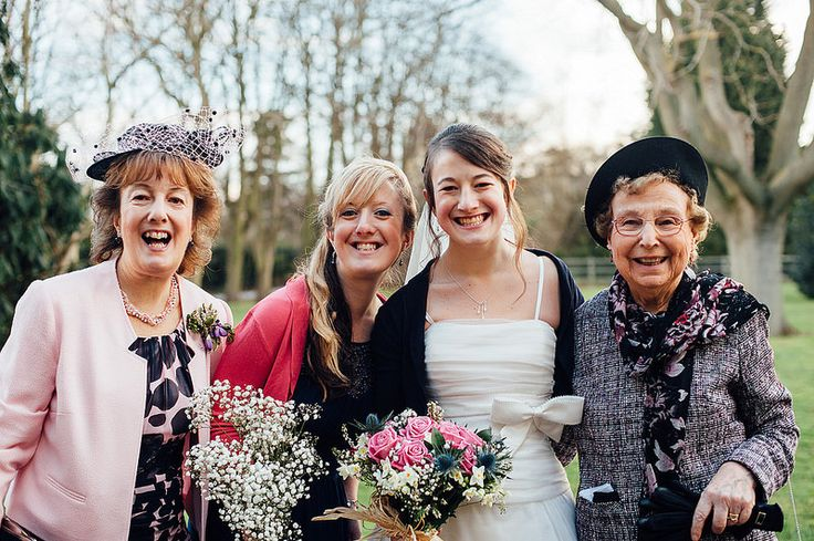 Granny, Mum, Sister & Bride. Malcolm & Laura's Pink & Scottish Wedding, Stotfold.   Mustard Yellow Photography #wedding #photography
