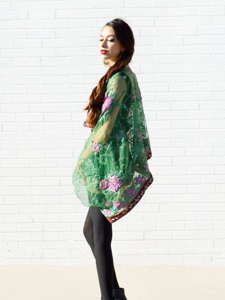 green and pink floral kimono jacket #MiriBohemian #style #natural #cute #beauty #bohemian #boho #models #tribal #greenliving #hippielove #retro #lovecharm #edgy #trend #crystals #accessories #pompom #festival2017 #pretty #trendy #goth #glamlife #punk #indie #fashionblogger #trends #witchy #rebelsoul #croptop #occult #indian #boholife #bohosoul #hippiestyle #90s #tribaltrend #handmade #fashiondesign #rocker #longhair #craft #magic #indiestyle #bridal #witchystyle #cutegirl #gypsy #bollywood…