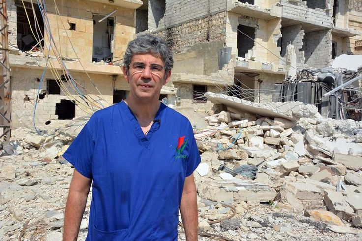 David Nott has negotiated ceasefires with the Russian army to help 500 children escape Aleppo. Photo: PA