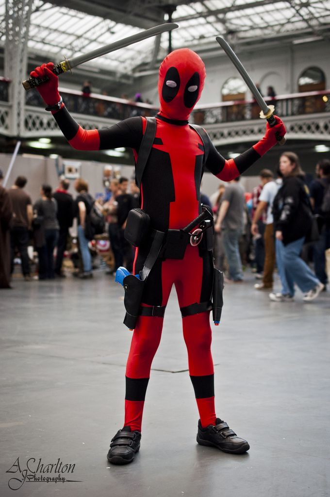 boy's deadpool costume - Google Search