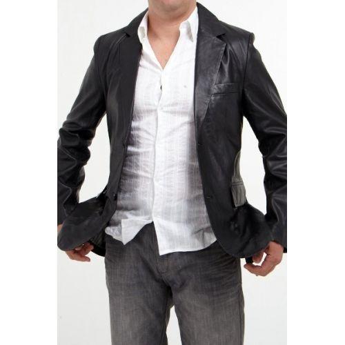 Pin Mens Leather Blazer Excelled Jacket Men At Kohls on P...