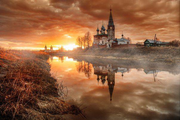Село Дунилово, Ивановская область.  Фото: Эдуард Гордеев.