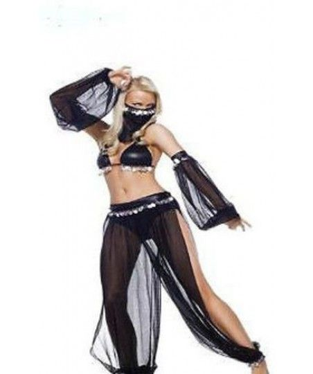 Princess Jasmine Genie Belly Dancer Fancy Dress Costume £16.99