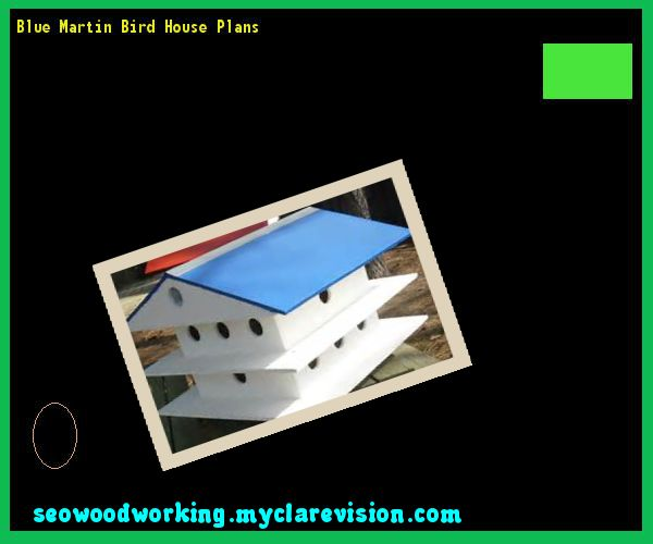 Blue Martin Bird House Plans 171256 - Woodworking Plans and Projects!