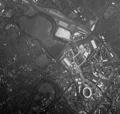 How Has A Microsatellite Captured The View Of London's Olympic Park..?