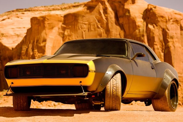 Two Camaros will be playing Bumblebee, a classic Camaro and a modified 6th generation 2016 Camaro