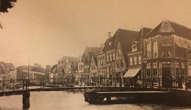 Turfhaven voor demping in 1878