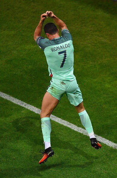 HISTORY: Cristiano Ronaldo is the FIRST player to score in 7 different Euro games.