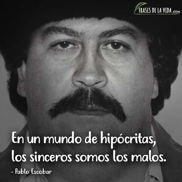 7 Frases de Pablo Escobar - YouTube  Pablo Escobar Frases
